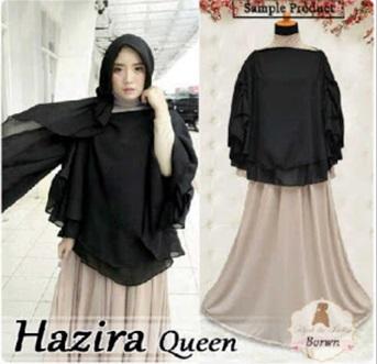 Busana muslim modern Trendy Hazira Queen