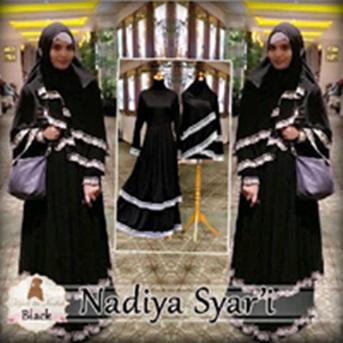 Gamis Syari Model Susun Nadiya
