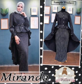 Busana Muslim Pesta Terbaru Miranda Polka
