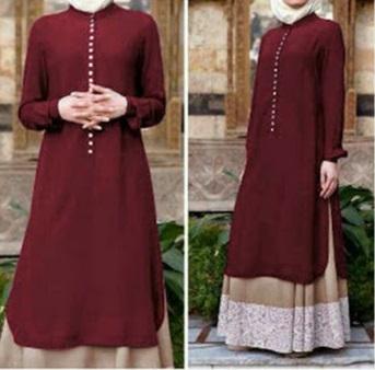 Busana muslim murah dan elegan Tania