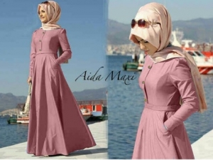 Gamis Modern Dan Elegan Murah Aida Maxi