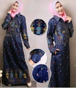 Gamis Muslimah Modern Murah Rosella Jeans