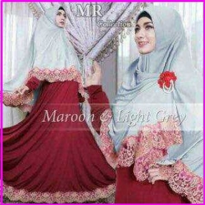 Gamis Syar'i Cantik Bahan Jersey Kimora Syar'i-1