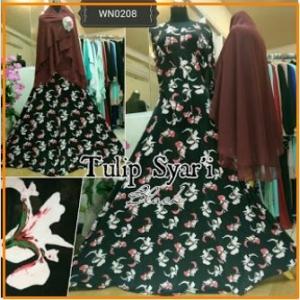 Baju Gamis Murah Tulip Syar'i-3