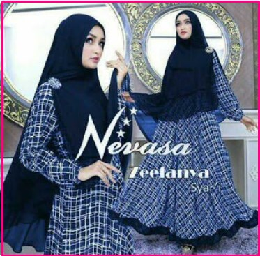 Gamis Modern Cantik Dan Elegan Nevasa Syar'i-1
