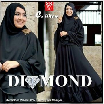Gamis Muslimah Terbaru Bahan Jersey Diamond Syar'i