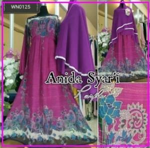 Gamis Pesta Anggun Online Anida Syar'i-1