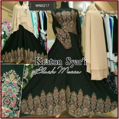 Baju Gamis Batik Kraton Syar'i-1