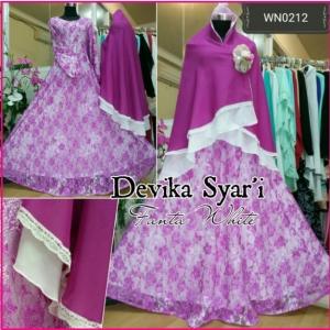 Baju Gamis Pesta Anggun Devika Syar'i-1