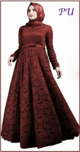 Baju Muslim Modis Marisa Brocade-2