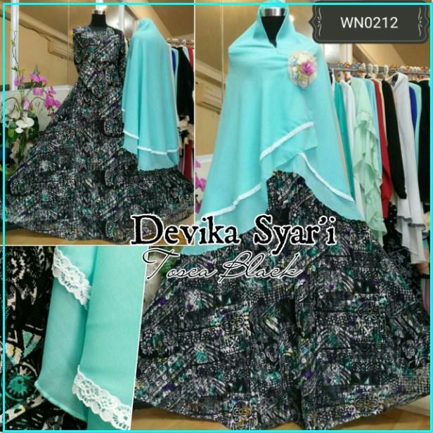 Baju Muslim Pesta Devika Syar'i-2