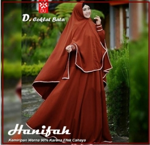 Busana Muslim Modern Hanifah Syar'i-1