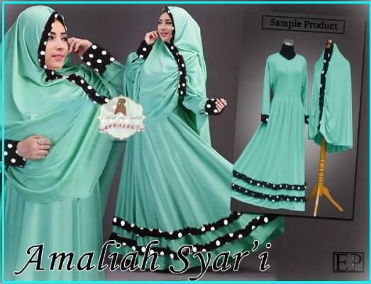 Busana Muslim Terbaru EP Amaliah Syar'i