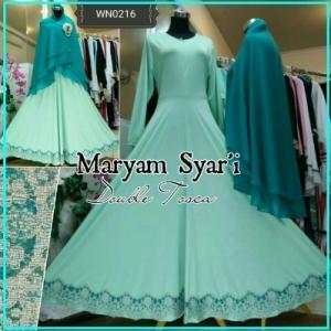 Busana Muslim Terbaru Maryam Syar'i-1