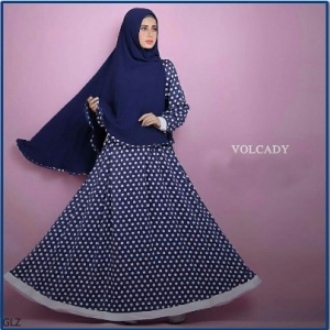 Busana Muslim Trendy Volcady Syar'i