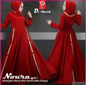 Gamis Muslimah Noura Syar'i-2