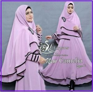 Gamis Terbaru Syar'i dan Murah New Camelia Syar'i-5