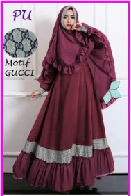 Model Baju Muslim Terbaru Gucci Syar'i-2