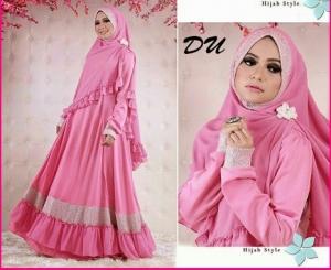 Baju Gamis Hasanah Syar'i-1 Cantik Dan Elegan