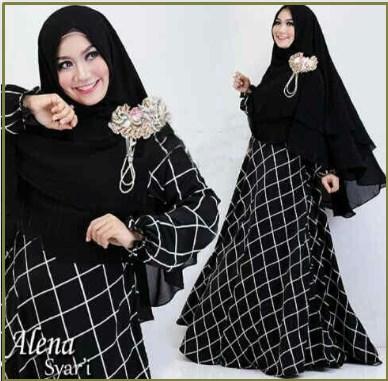 Baju Muslim Wanita Terbaru Alena Syar'i
