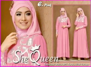 Busana Muslim Pesta Mewah She Queen-2