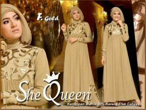 Grosir Baju Muslim Murah  She queen-1