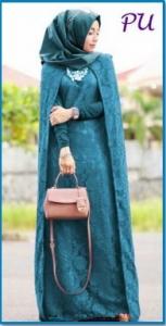 Gamis Pesta Terbaru dan Elegant Princess Brocade