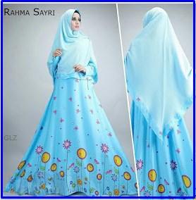 Baju Gamis Cantik Bahan Maxmara Rahma Syar'i-4