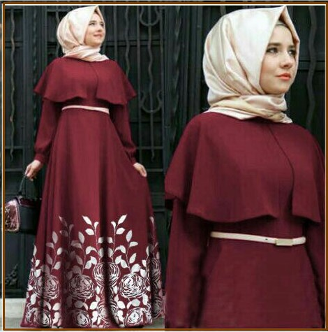 Baju Muslim Terbaru dan Murah Jelita Dress-1