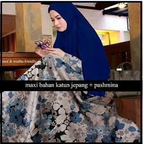 Busana Muslim Magda-1 Model Terbaru Bahan Katun Jeoang