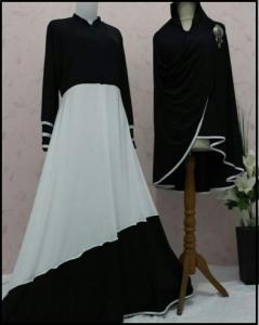 Busana Muslim Trendy Model Terbaru Ummi Syar'i-4