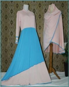 Busana Muslim Trendy Model Terbaru Ummi Syar'i-5