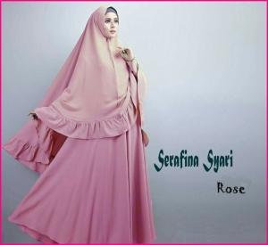 Gamis Syar'i dan Cantik Serafina-2