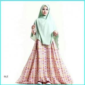 Gamis Sadina Syar'i Bahan Crepe Model Terbaru