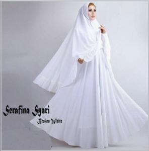 Gamis Syar'i CAntik Dan Angun serafina -3