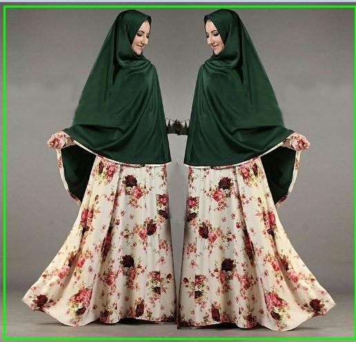 Baju Gamis Cantik Bahan Maxmara tiara syar'i