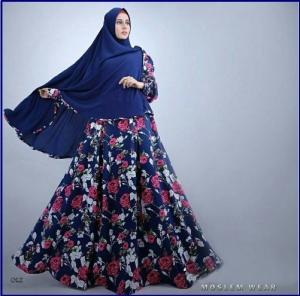 Busana Muslim Terbaru Bahan Maxmara ZahraSyar'i Premium