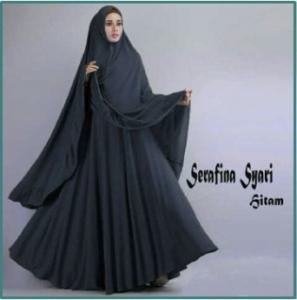 Gamis Syar'i CAntik Dan Anggun - 2 Serafina Syar'i-1