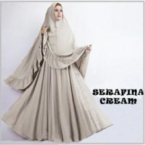Gamis Syar'i Cantik dan Anggun-2 Serafina Syar'i-2
