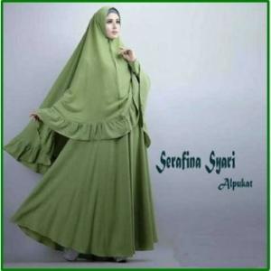 Gamis Syar'i Cantik dan Anggun - 2 Serafina Syar'i