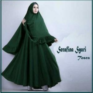 Gamis Syar'i Cantik dan Anggun-2 Serafina Syar'i-4