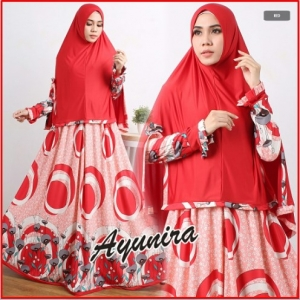 Baju Muslim Wanita Bahan Waffle Ayunira Syar'i-1
