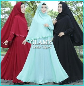 Gamis Online Bahan Bubble Pop Salsa 2 - 1