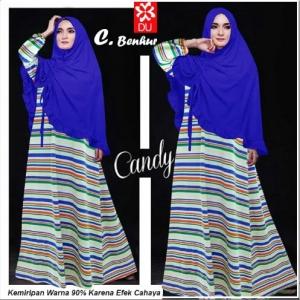 Busana Muslim Murah Bahan Spandex Rayon Candy-1