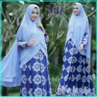 Gamis Batik Cantik Bahan Crepe