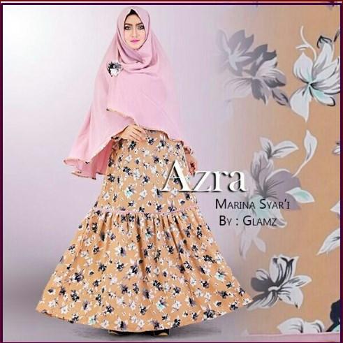 Gamis Cantik Modis Bahan Wollpeach Marina Syar'i