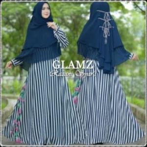 Baju Gamis Terbaru Modis Bahan Bubble Pop Razani Syar'i-c