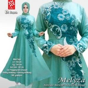 Baju Muslim Wanita Untuk Pesta meliza tosca