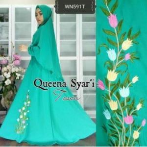 Busana Muslim Terbaru Dan Cantik Queena Syar'i-1