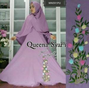 Busana Muslim Terbaru Dan Cantik Queena Syar'i-2